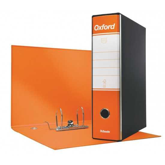 REGISTRATORE OXFORD Protocollo Arancio cm. 8