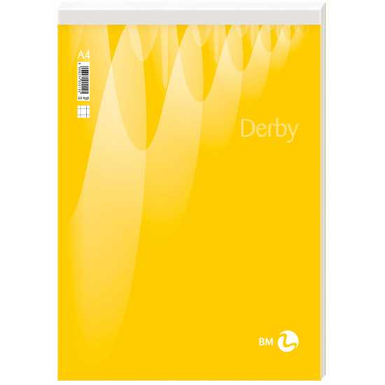 BLOCCO p.m. DERBY - 70 fogli A4