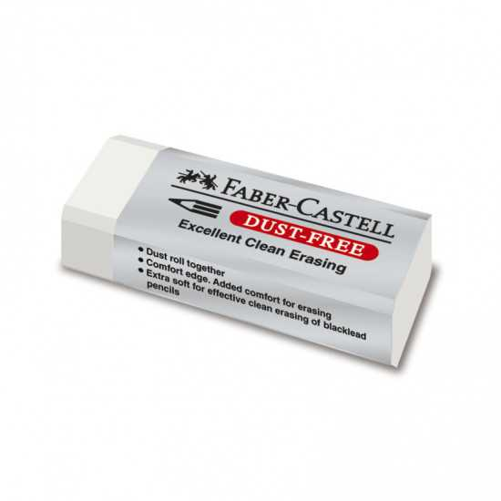 GOMMA FABER-CASTELL DUST-FREE