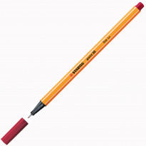 FINELINER STABILO POINT 88/50 ROSSO CREMISI