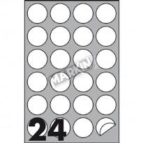 ETICHETTE MARKIN R/305 100 fogli A4 (24et/fg)