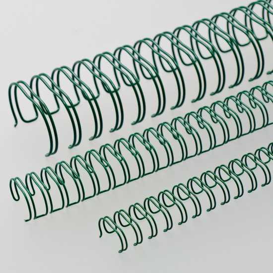 Spirali metalliche Renz A4 34 anelli passo 3:1 - colore Verde