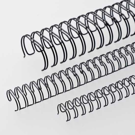 Renz Dorsi metallici A4 23 anelli passo 2:1 - colore nero