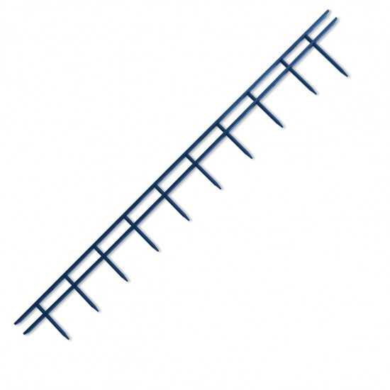 GBC Pettini Surebind 10 punte - colore blu