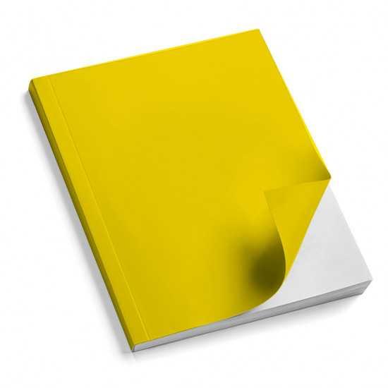 Nr. 100 Copertine stese ARCOBALENO giallo