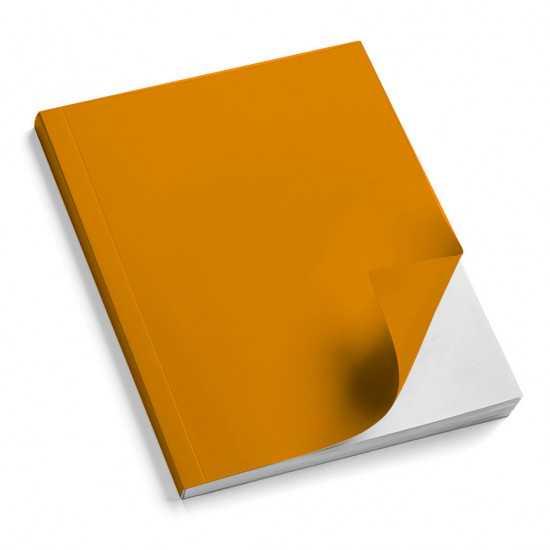 Nr. 100 Copertine stese ARCOBALENO arancio