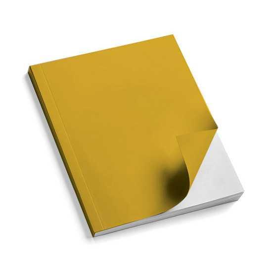 Nr. 100 Copertine stese ARCOBALENO giallo oro