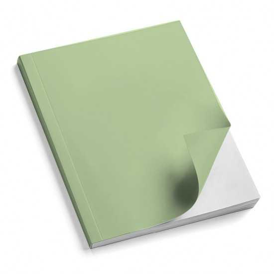 Nr. 100 Copertine stese ARCOBALENO verde chiaro