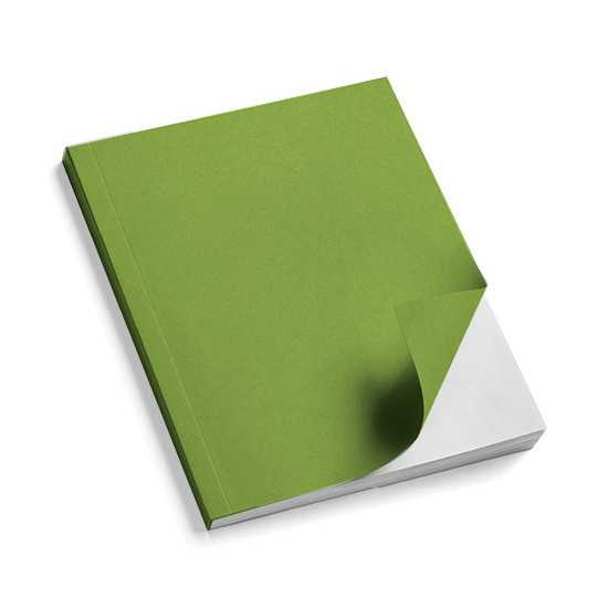 Nr. 100 Copertine stese ARCOBALENO verde lime