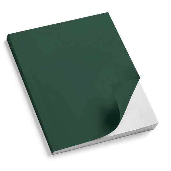Nr. 100 Copertine stese ARCOBALENO verde scuro