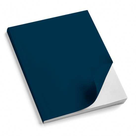 Nr. 100 Copertine stese ARCOBALENO blu scuro