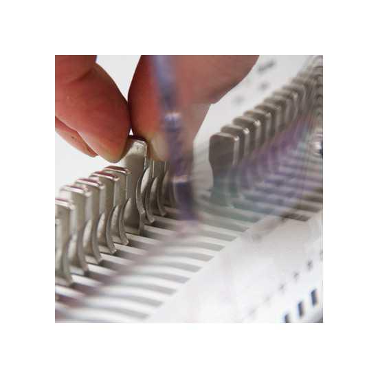 Rilegatrice a spirale metallica - Renz SRW 360