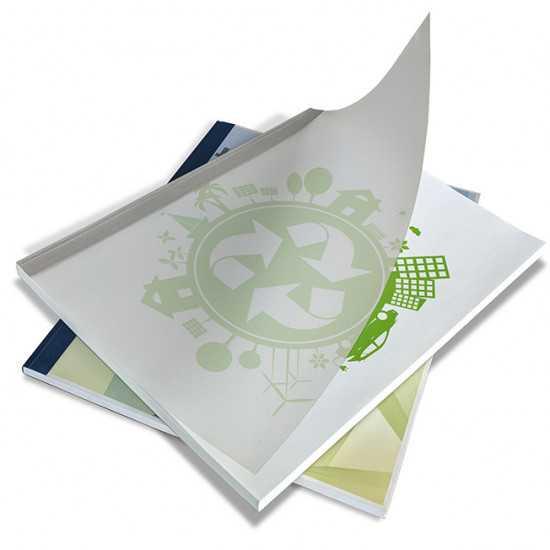 Cartelline termiche per rilegatura Bindomatic Aquarelle Bianco