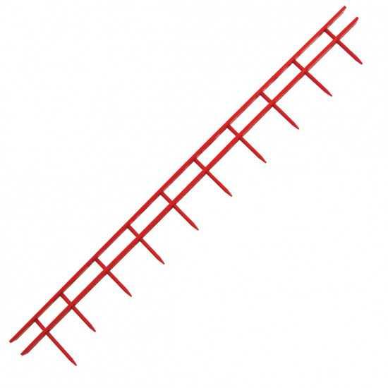 GBC Pettini Surebind a 10 punte - colore rosso