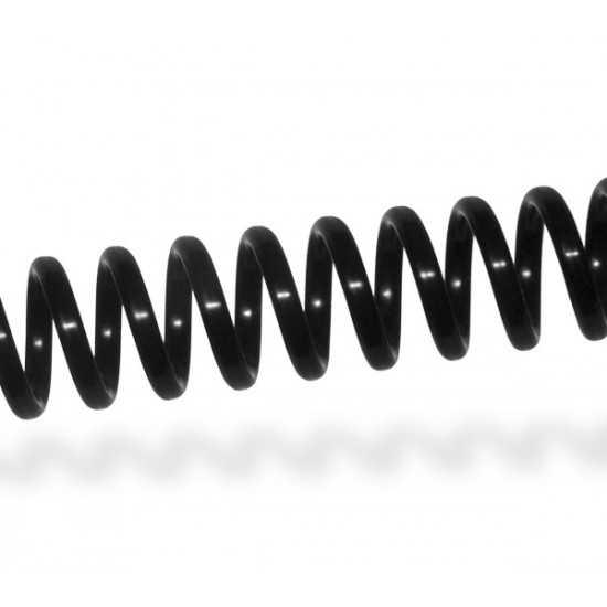 Spirali Coil passo 4:1 - colore nero