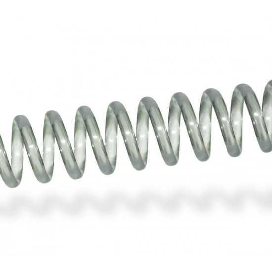 Spirali Coil passo 4:1 - colore Clear trasparente