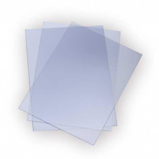 Nr. 100 Copertine trasparenti CRYSTAL A4 200 my