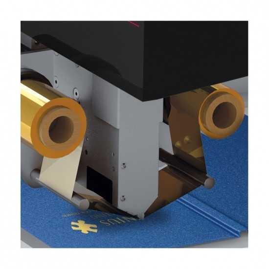 Ribbon per Foil Printer - BLU (Metal Blue)