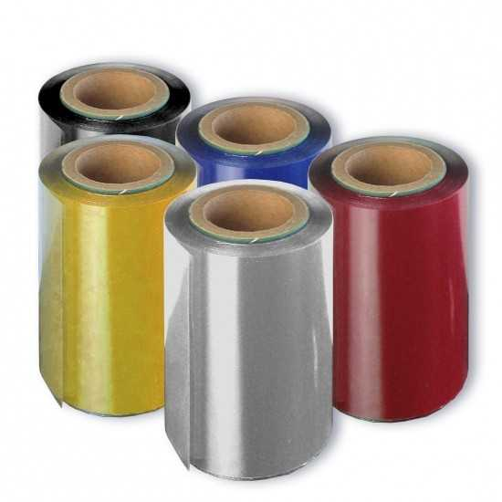 Ribbon per Foil Printer - ROSSO (Metal Red)