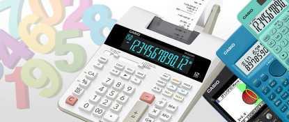 Calcolatrici Casio