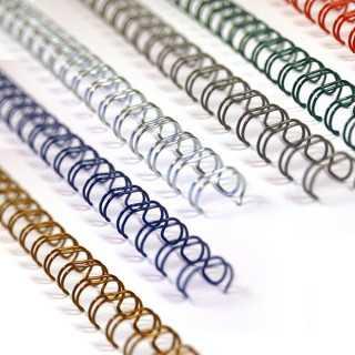 Spirali metalliche A4 34 anelli - passo 3:1