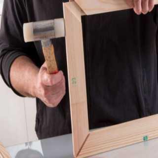 Barre in legno per telai